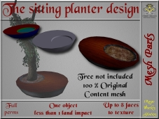 Sitting planter design SL Add