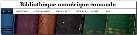 Logo Bibliotheque numerique romande